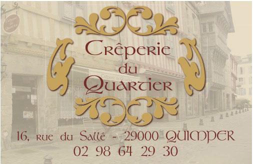 Creperie Du Quartier Quimper Cdv